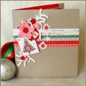 Картичка-плик за пари, Коледа 3, Лукс