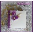 Кутийка малка, лилава винтидж 1